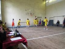 Змагання з баскетболу у рамках міської спартакіади серед студентів навчальних закладів міста