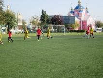 Змагання з футболу у рамках міської спартакіади серед студентів навчальних закладів міста