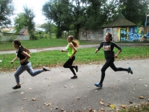 Змагання з легкоатлетичного кросу у рамках міської спартакіади серед студентів навчальних закладів міста