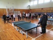 Змагання з настільного тенісу у рамках міської Спартакіади серед студентів навчальних закладів міста