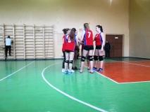 Змагання з волейболу в рамках обласної спартакіади серед студентів ВНЗ І-ІІ р.а.