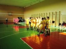 Змагання з волейболу (юнаки) в рамках обласної спартакіади серед студентів ВНЗ І-ІІ р.а.